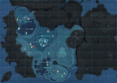 ワールドマップ|見方やリージョン一覧