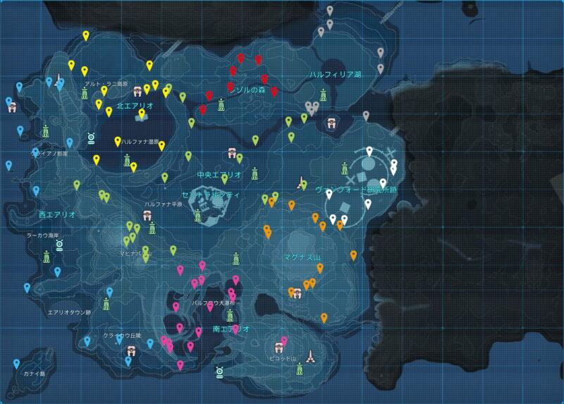 赤コンテナの場所【全113箇所】