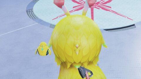 黄色のマグ
